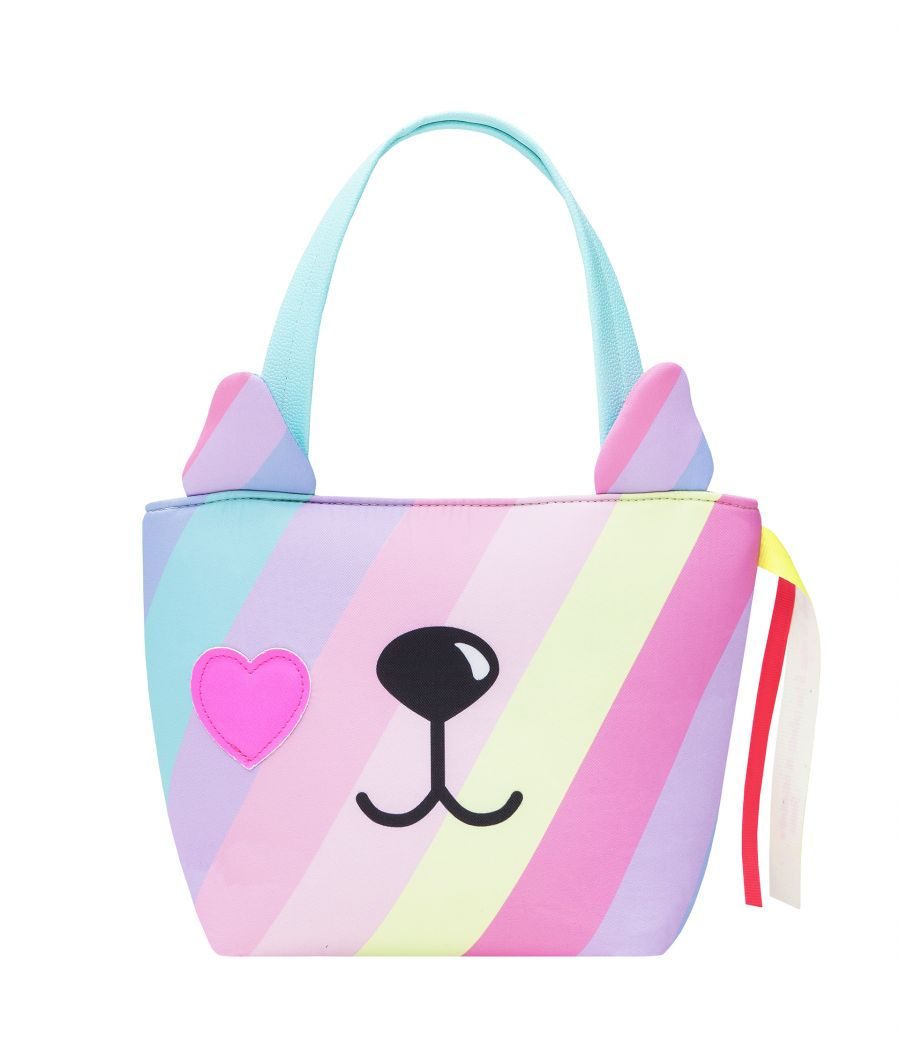 CARTERA MINI TOTE RAINBOW