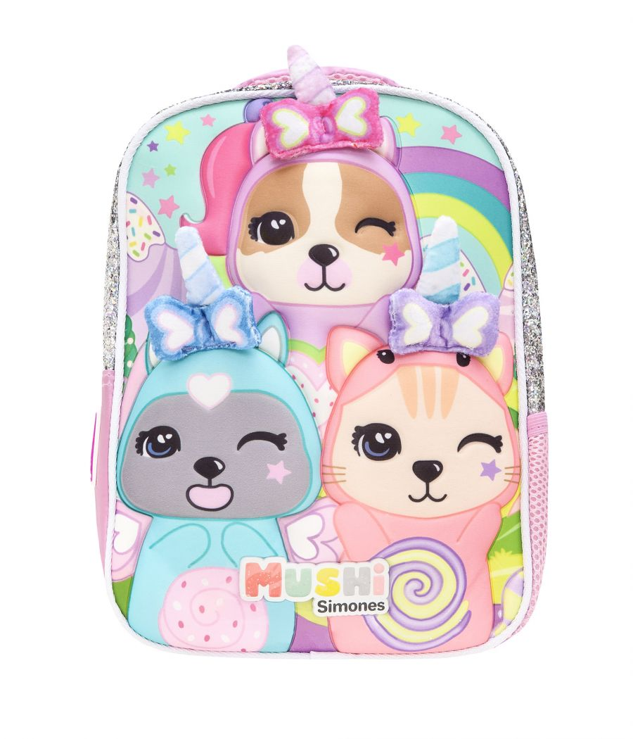 "MOCHILA 12"" UNICORNS CANDY"