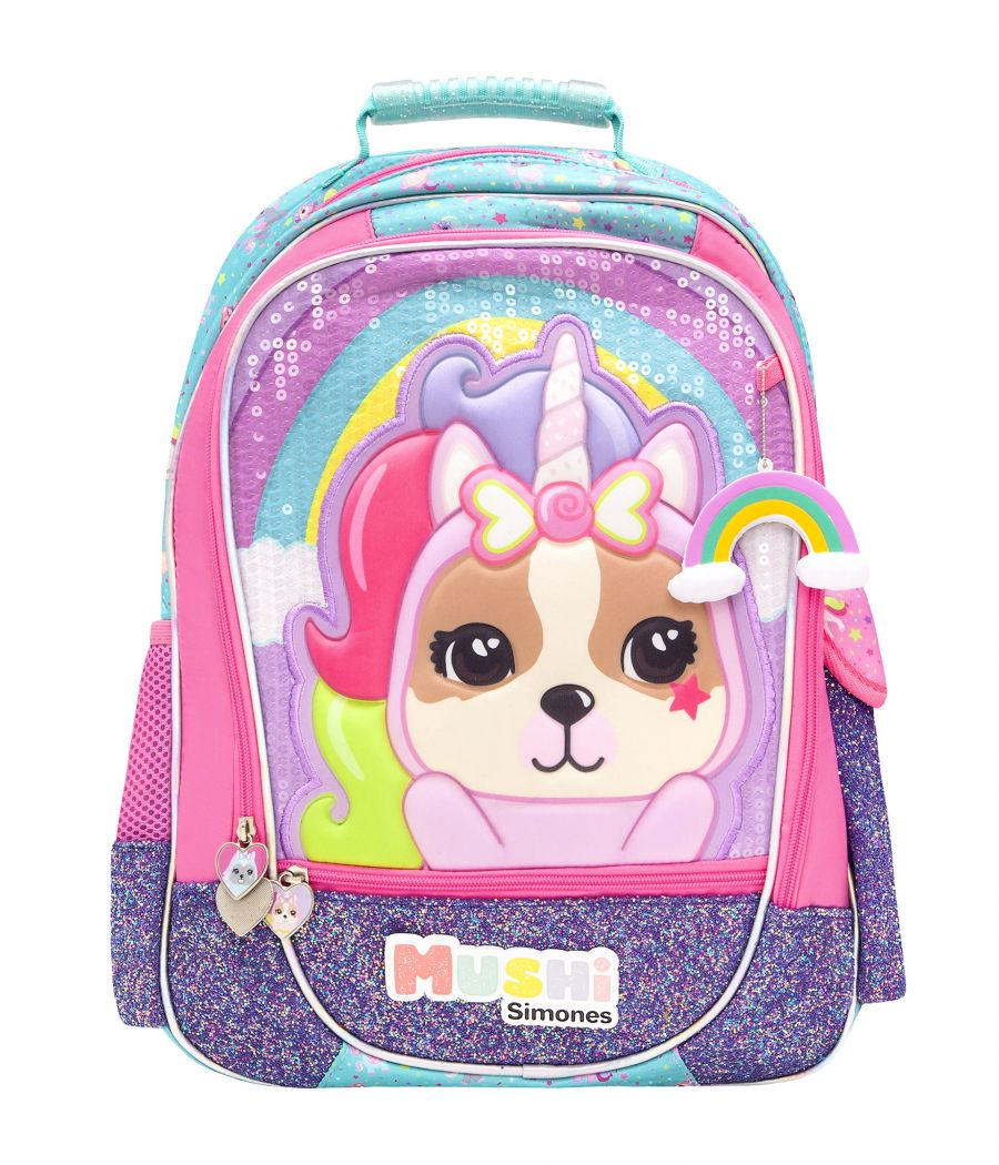 "MOCHILA 18"" SOFIA UNICOR CANDY"