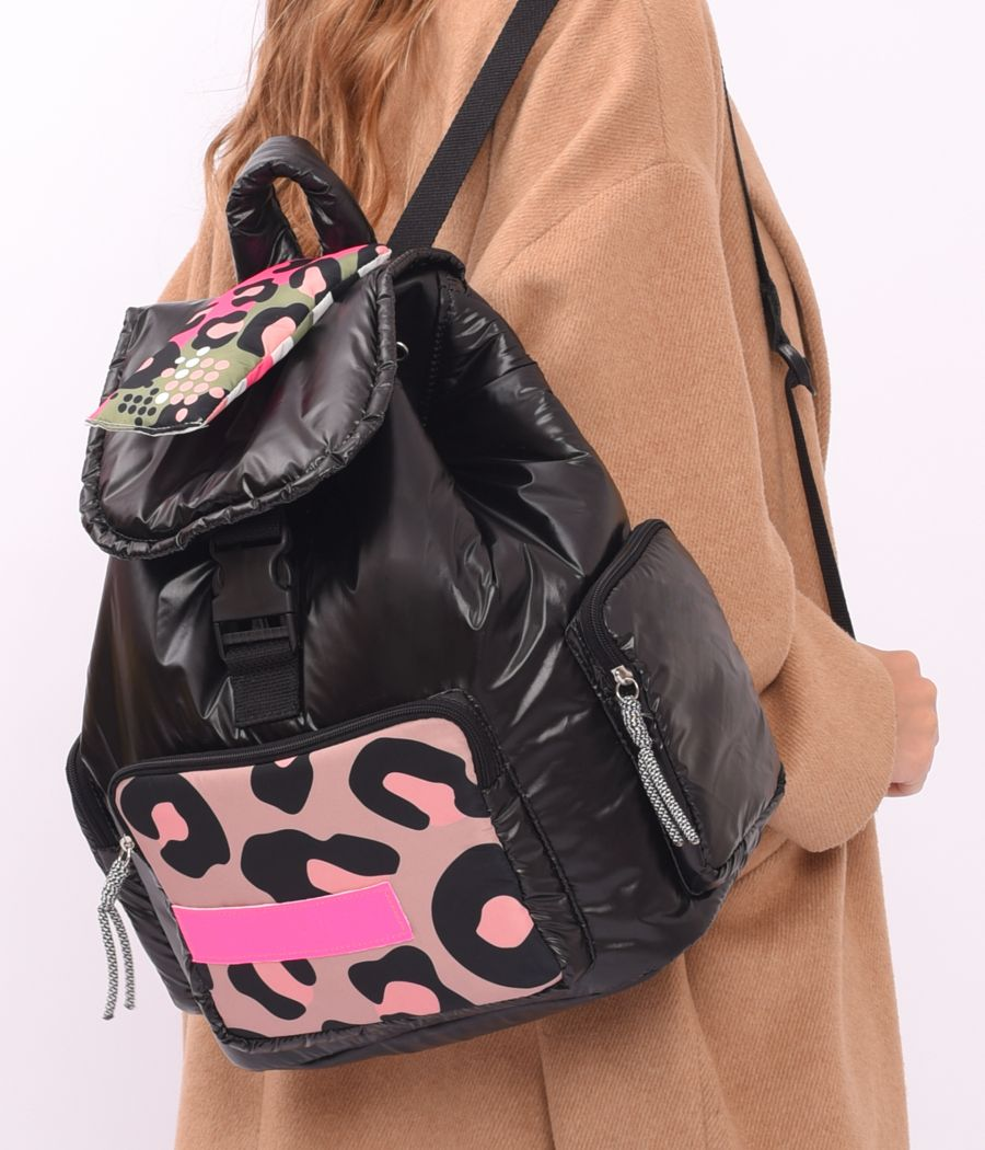MOCHILA SHELL PACK COLOR BLACK