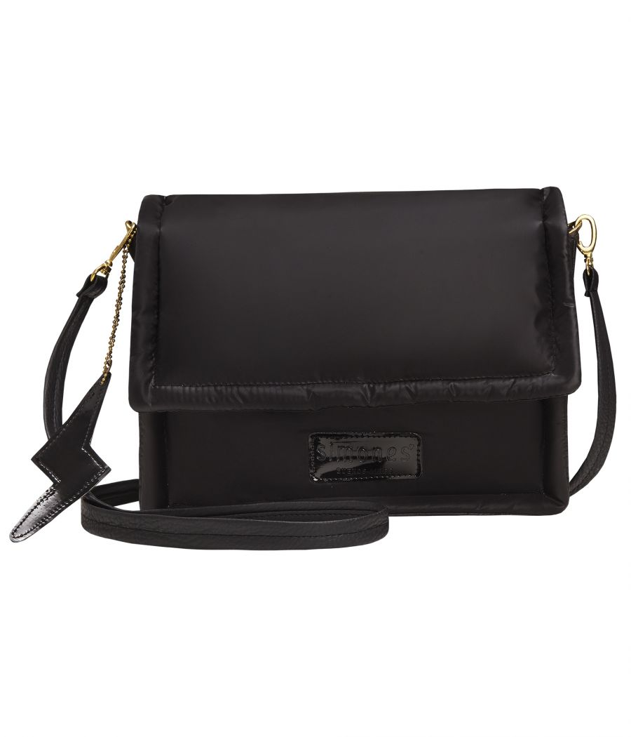 BANDOLERA CROSS BAG BLACK